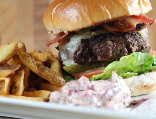 Food : Burger & Chips