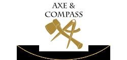 Axe and Compass | Hemingford Abbots Logo