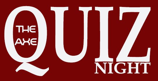 Quiz Night every Tuesday from 8.30pm