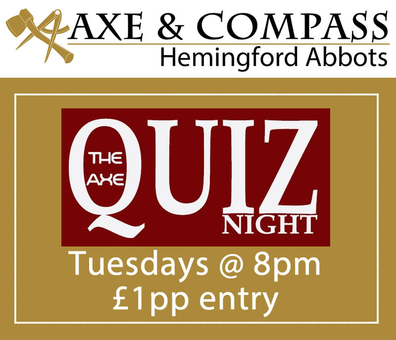 The Axe Quiz Night
